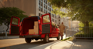 2013 Chevrolet Express red