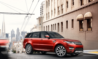 2013 Land Rover Range Rover Sport red