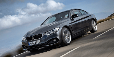 2014 BMW 4-Series coupe grey