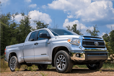 2014 Toyota Tundra extended cab silver