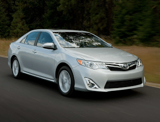 2012 Toyota Camry silver