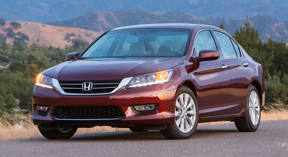 2013 Honda Accord sedan red