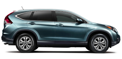 2014 Honda CR-V green