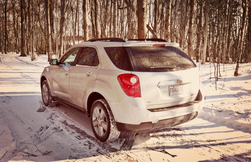 2014 Chevrolet Equinox LT AWD rear angle