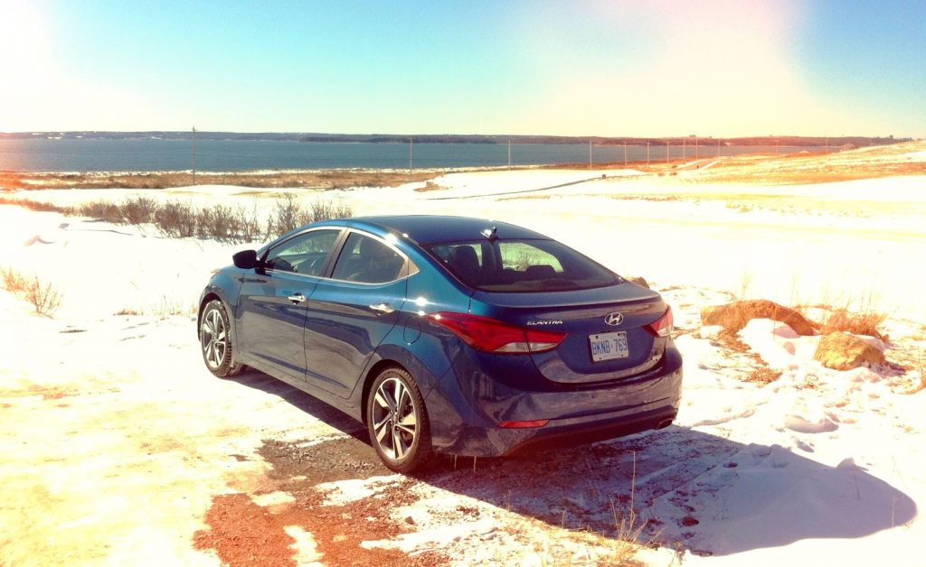2014 Hyundai Elantra Limited Hartlen Point