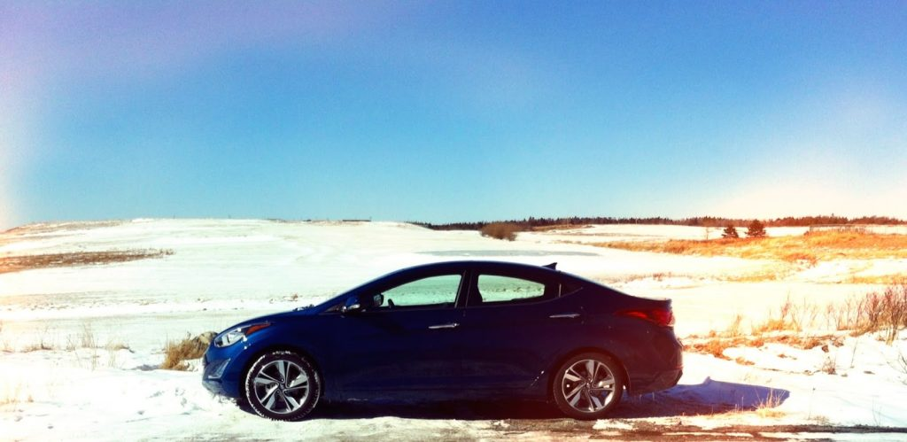 2014 Hyundai Elantra Limited Hartlen Point golf course