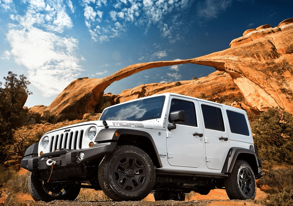 2014 Jeep Wrangler Unlimited Moab