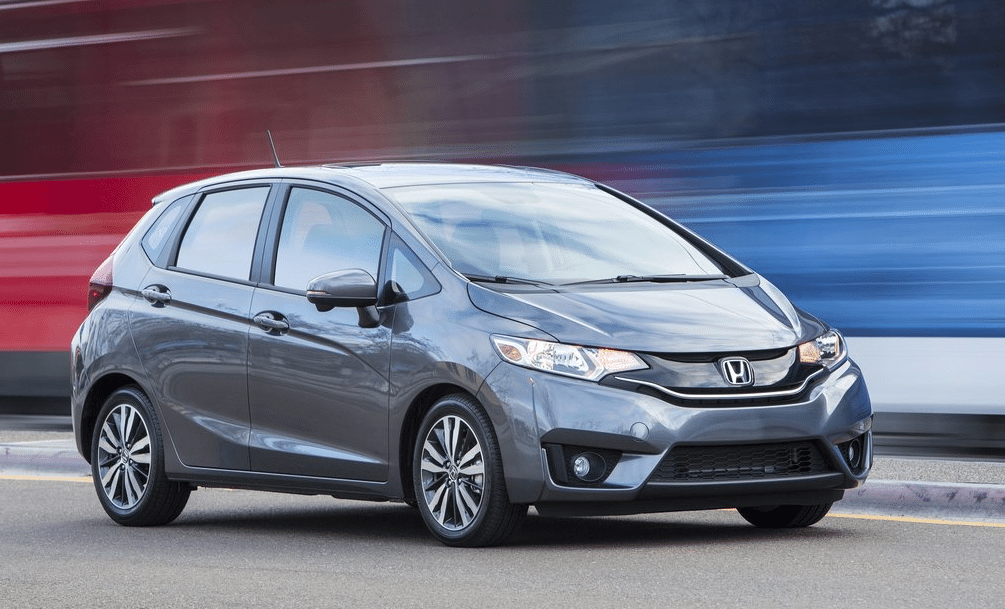 2015 Honda Fit grey