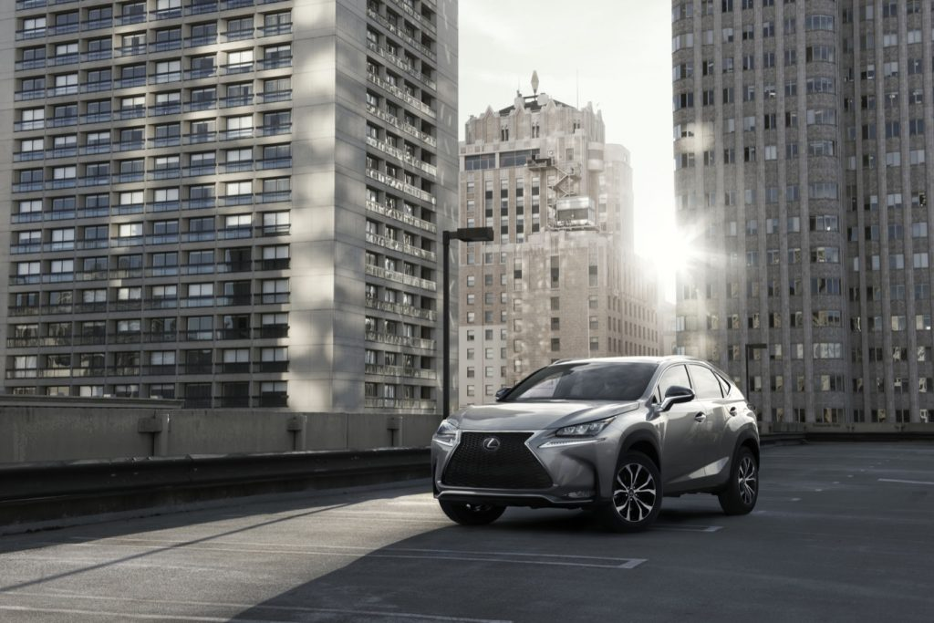 2015 Lexus NX front angle
