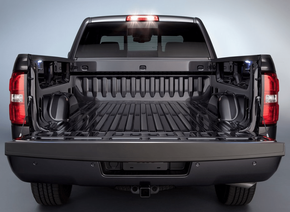 2014 GMC Sierra bed