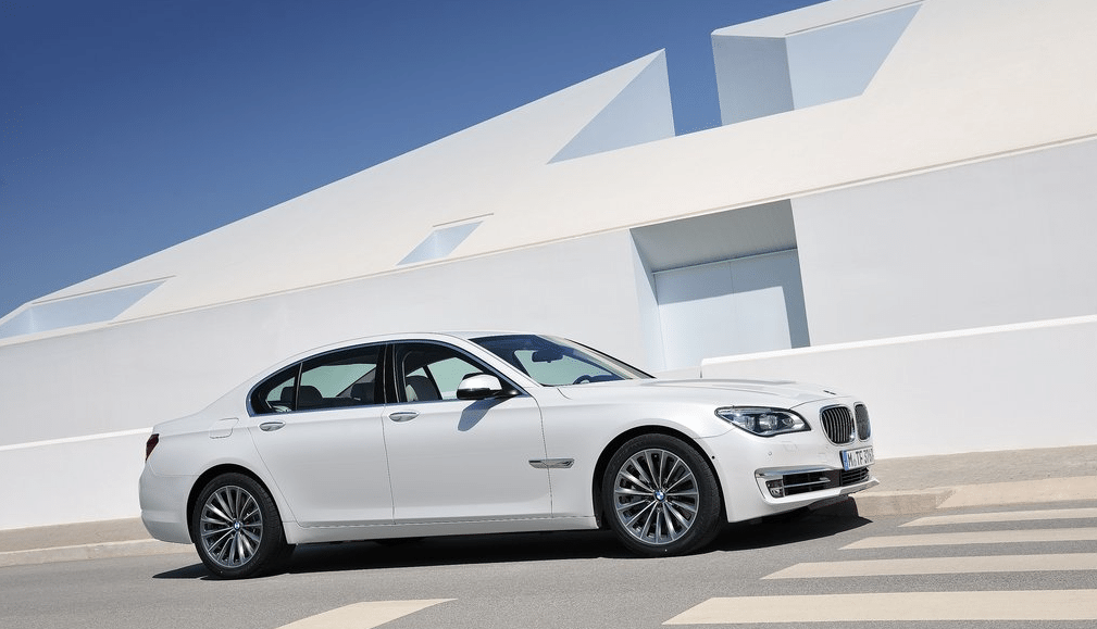2012 BMW 7-Series white