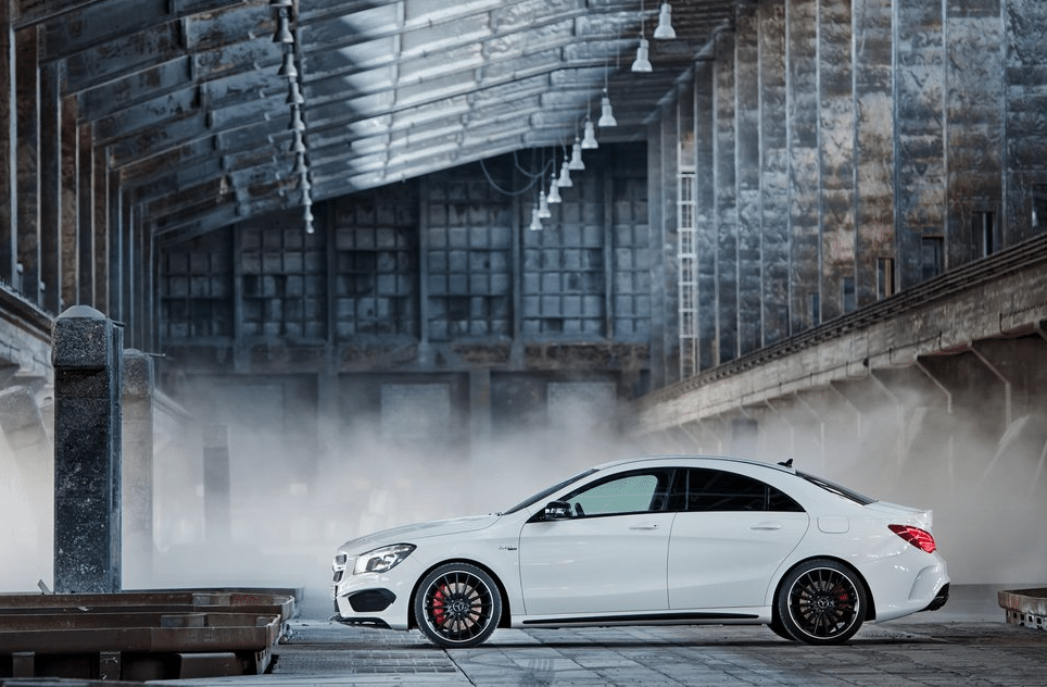 2014 Mercedes-Benz CLA45 AMG white