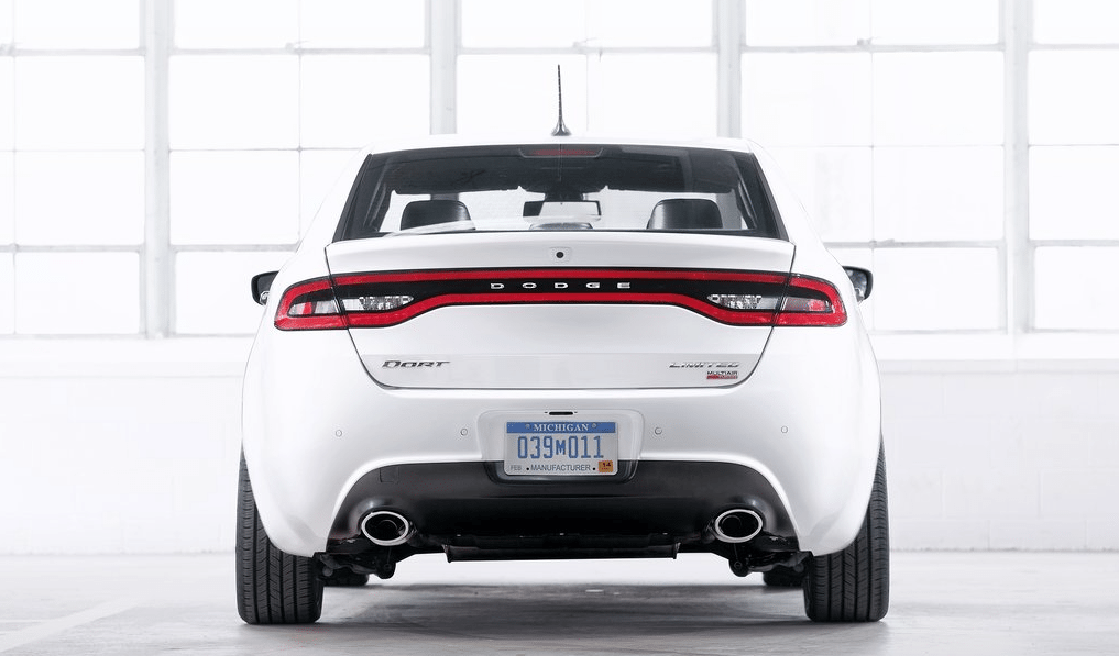 2013 Dodge Dart white
