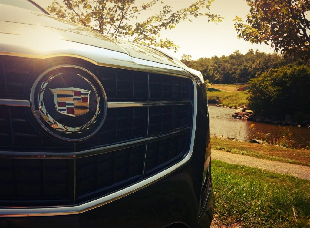 2014 Cadillac CTS V Sport grille