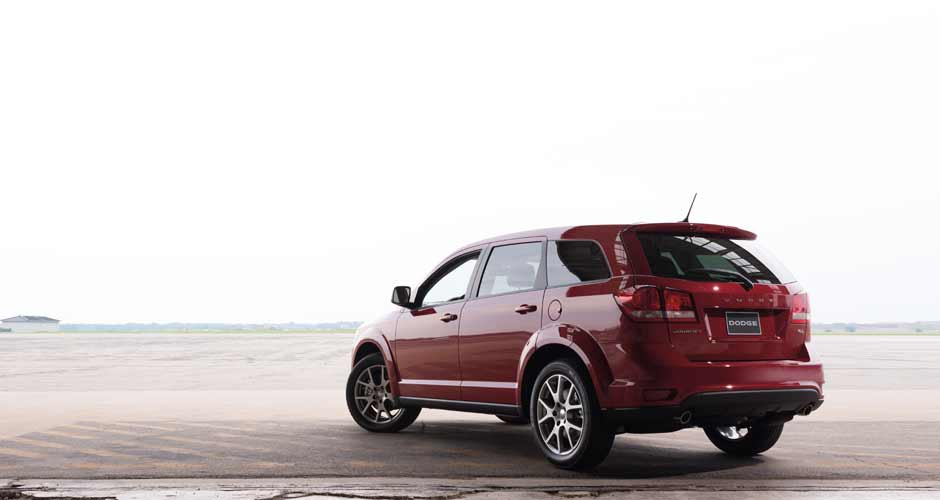 2014 Dodge Journey red