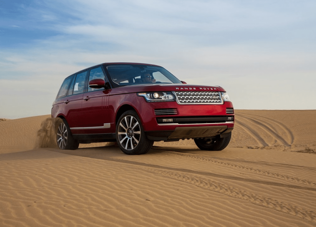2014 Range Rover red