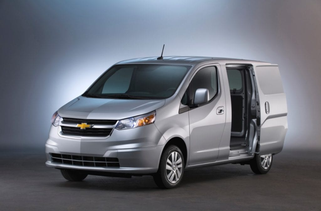 fbc131c7a6 Commercial Van Sales In America – November 2014 YTD