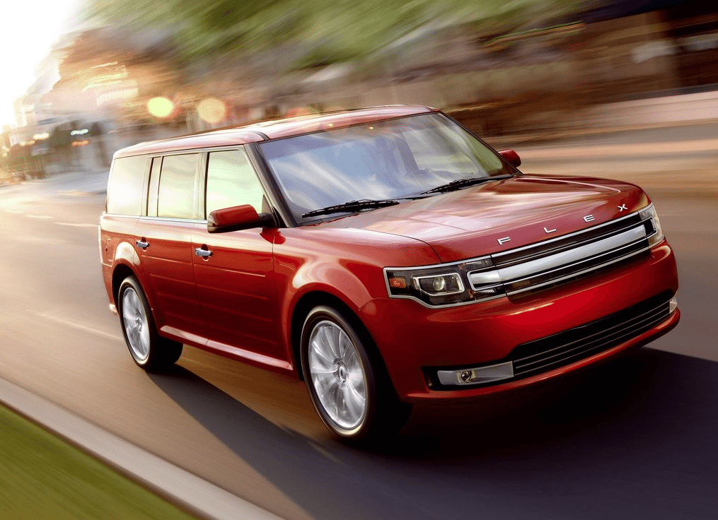 2013 Ford Flex red