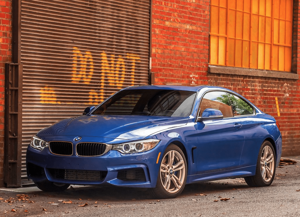 2014 BMW 4-Series Coupe blue