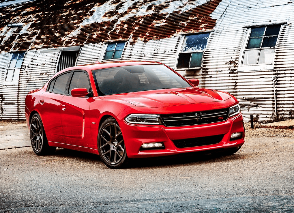 2015 Dodge Charger red