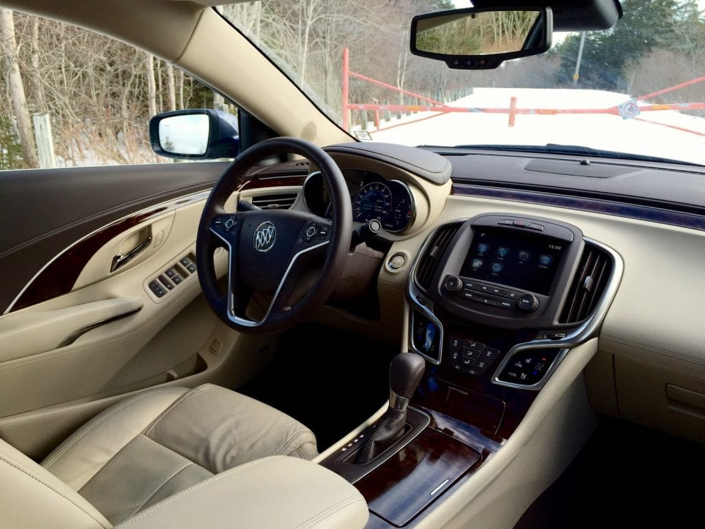 2015 buick lacrosse awd review probably not your kind of. Black Bedroom Furniture Sets. Home Design Ideas