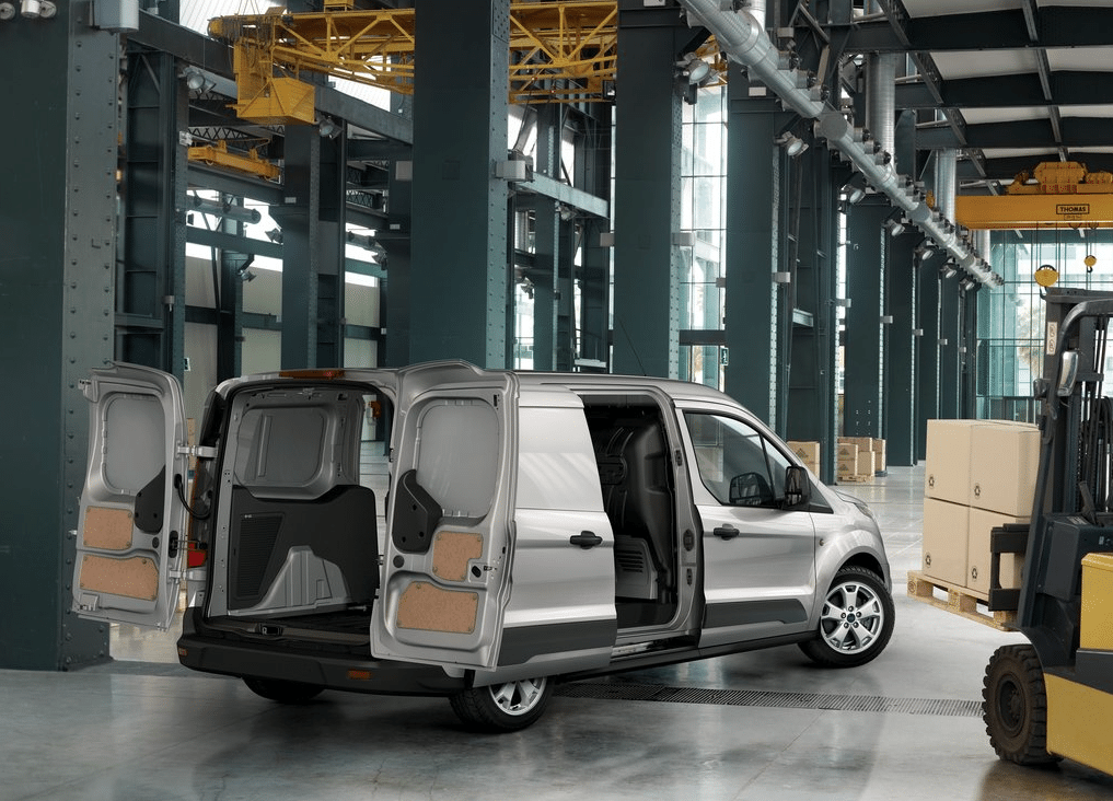 95fb59bc65 2015 Ford Transit Connect grey. The three top-selling commercial vans in  America ...