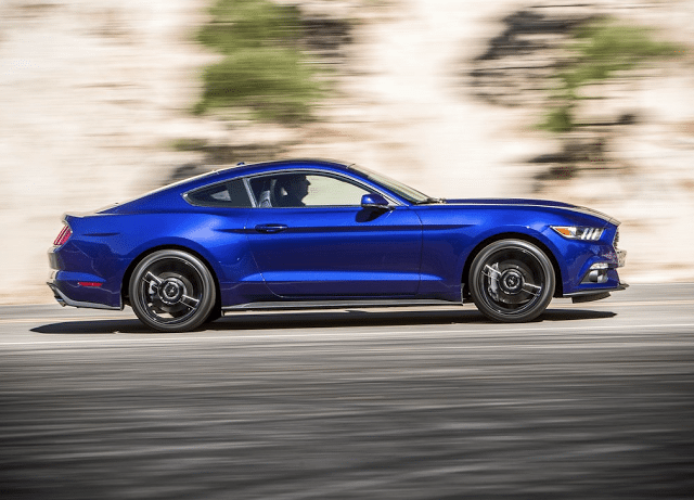 2015 Ford Mustang EcoBoost blue