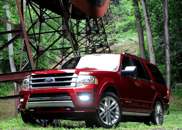 2015 Ford Expedition red
