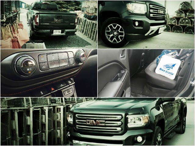 2015 GMC Canyon crew cab SLE collage