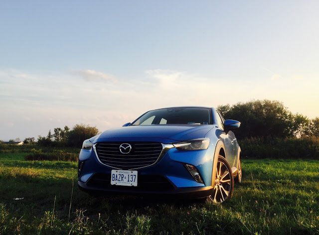 2016 Mazda CX-3 GT AWD front blue