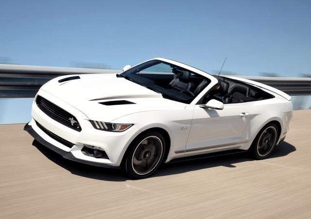 2016 Ford Mustang convertible white