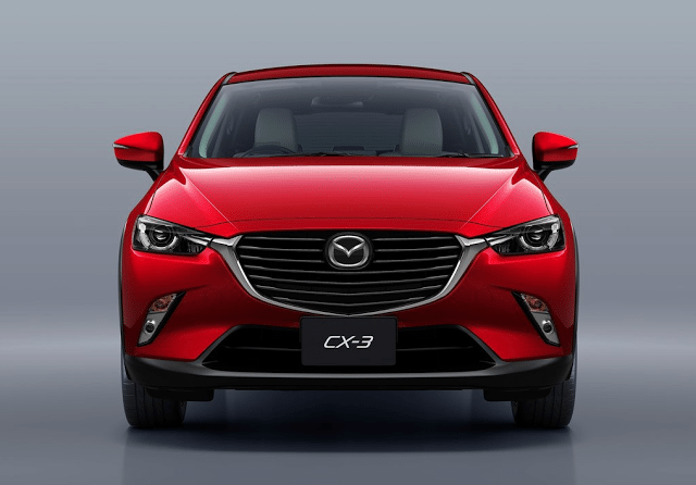 2016 Mazda CX-3 red front
