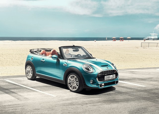 2016 Mini Cooper S Convertible blue