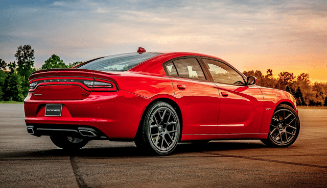 2015 Dodge Charger R/T red