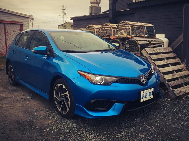 2016 Scion iM Electric Blue