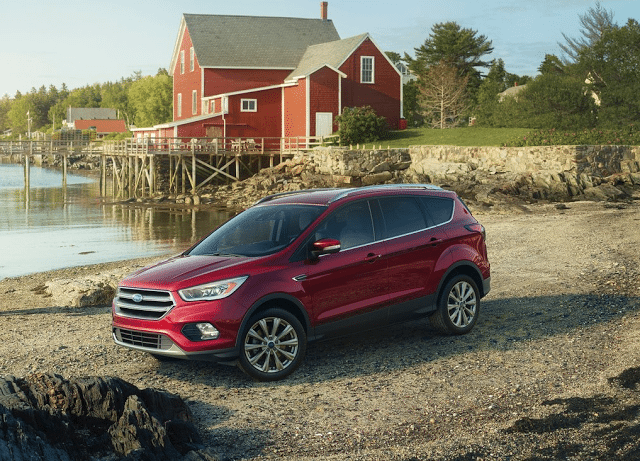2017 Ford Escape farm red