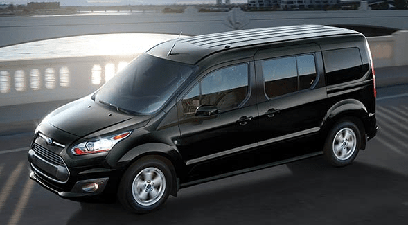 2016 Ford Transit Connect black