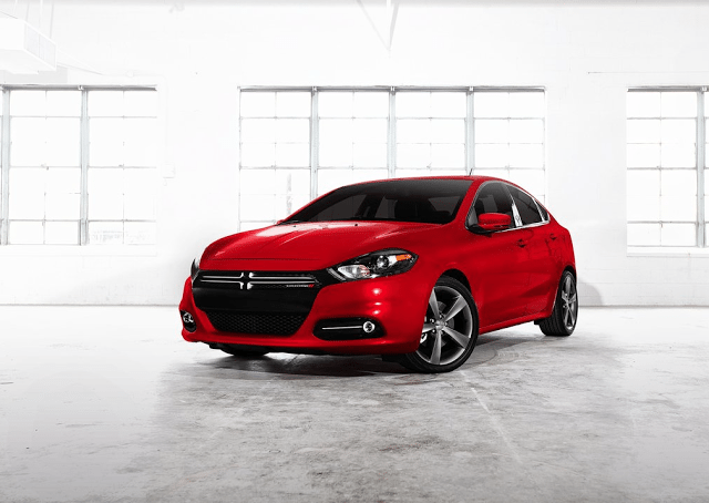 2014 Dodge Dart GT red