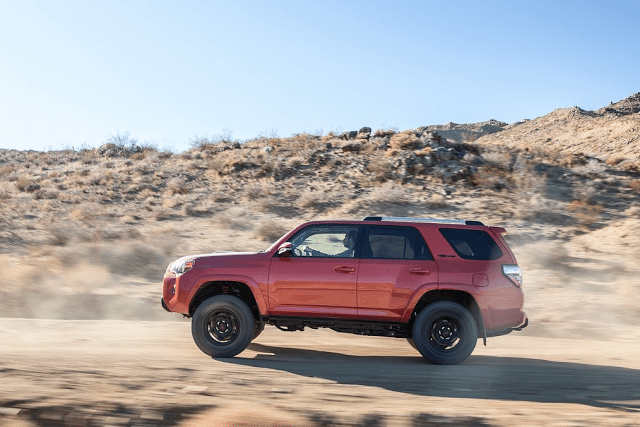 2015 Toyota 4Runner TRD red