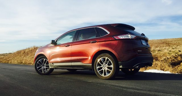 2016 Ford Edge Titanium Bronze Fire