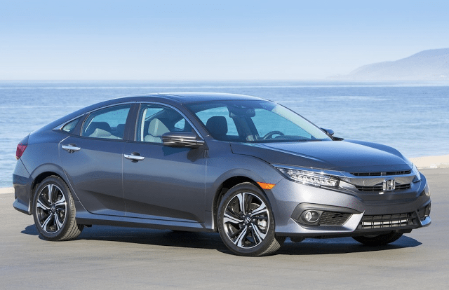2016 Honda Civic grey