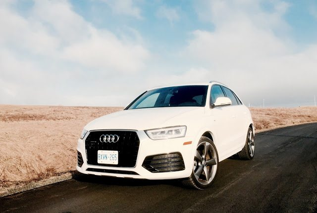 2016 Audi Q3 technik white