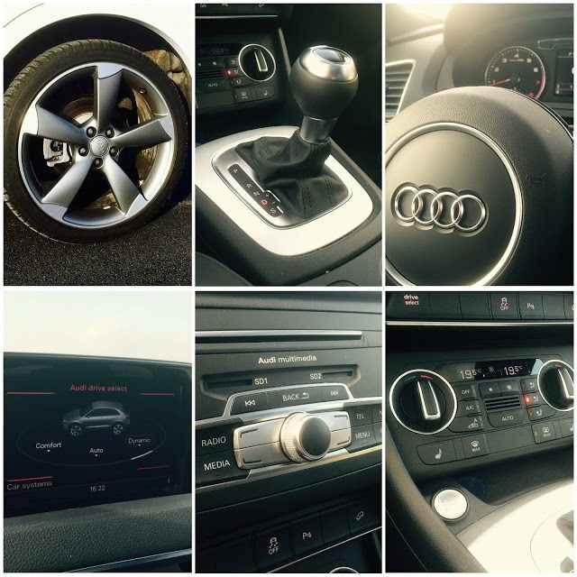 2016 Audi Q3 interior collage