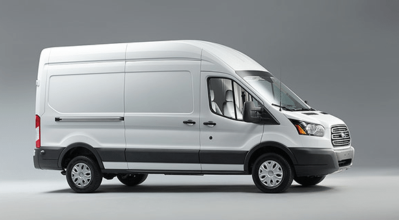 2016 Ford Transit white van