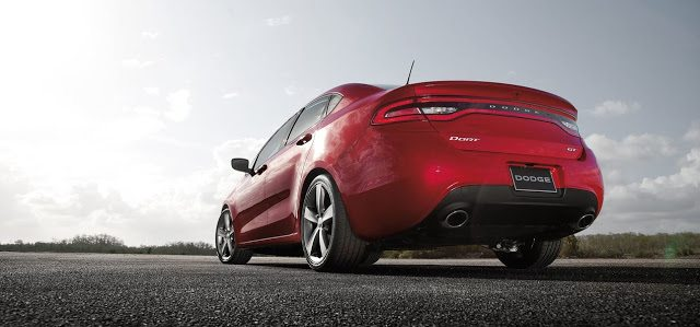 2016 Dodge Dart GT red
