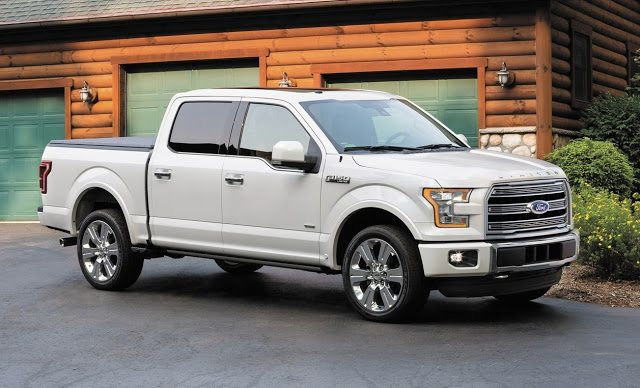 2016 Ford F-150 Limited Crew Cab white