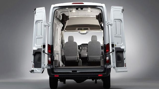 2016 Ford Transit Cargo Area