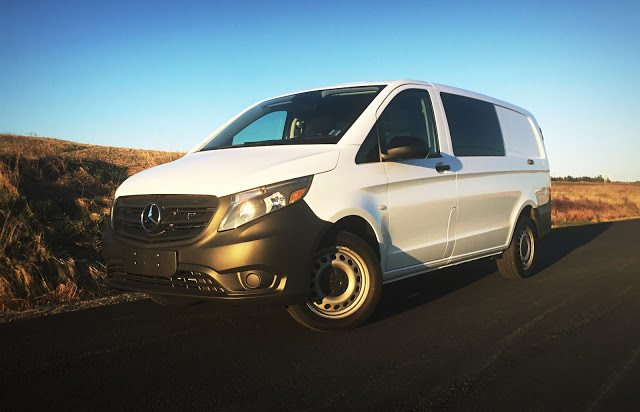 2016 Mercedes-Benz Metris white (Timothy Cain)