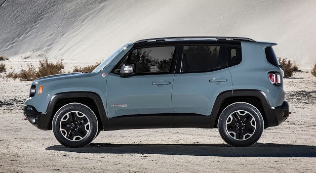 2016 Jeep Renegade grey blue