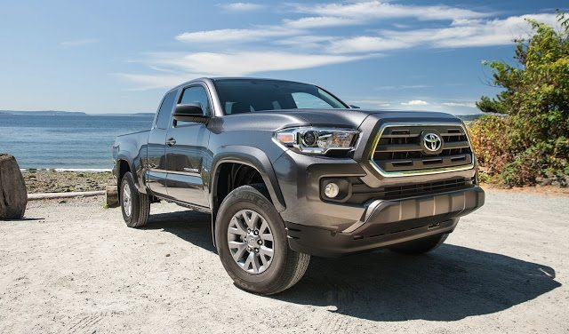 2016 Toyota Tacoma grey extended cab